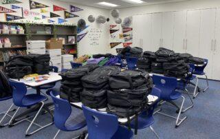 backpack distribution